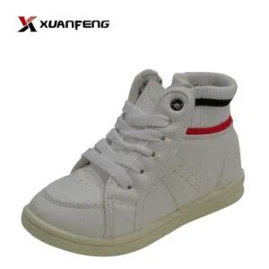 Wholesale Unisex Children′s Injection Canvas Shoes High Top