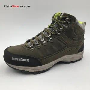 Wholesale Men′s Leather Outdoor Trekking Boots