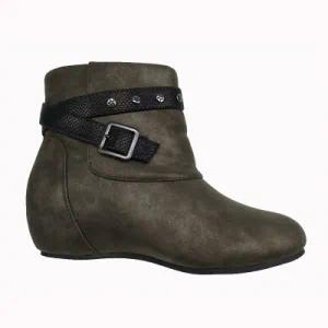 Fashion Heeled Ankle Winter Women Boots