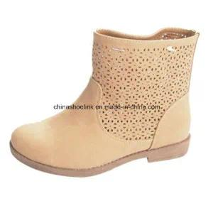 China Lady Summer Boots Supplier PU Leather