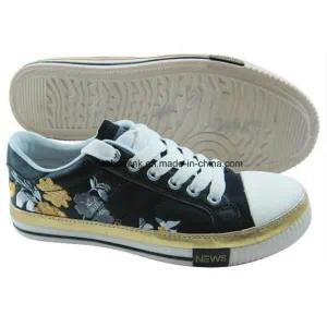 New Fashion Children Canvas Shoes with Vulcanized Sole