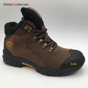 Wholesale Men′s Leather High Quality Outdoor Boots