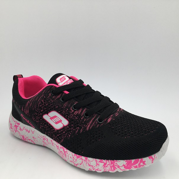 Wholesale Popular Ladies Sneakers Running Sports Shoes