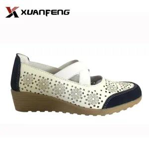 New Fashion Women Genuine Leather Shoes with TPR Sole