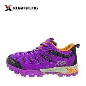 Colorful Women′s Outdoor Winter Hiking Shoes
