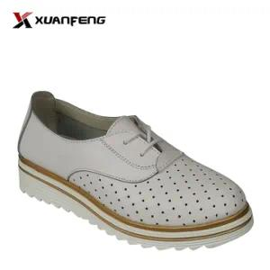 Popular Comfortable Lady′s Leather Shoes