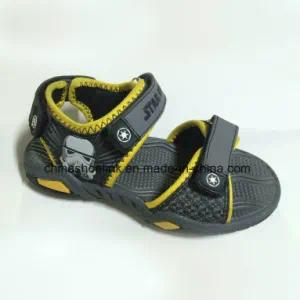 Popular Children Beach Sandal with PU Upper and TPR Outsole